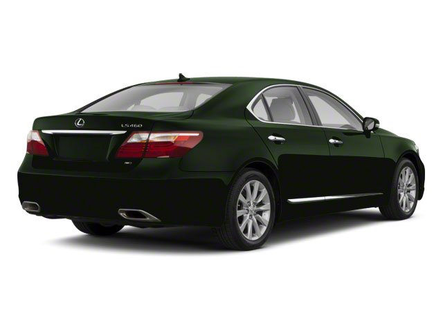 Peridot Mica 2012 Lexus LS 460 Pictures LS 460 Sedan 4D LS460L photos rear view