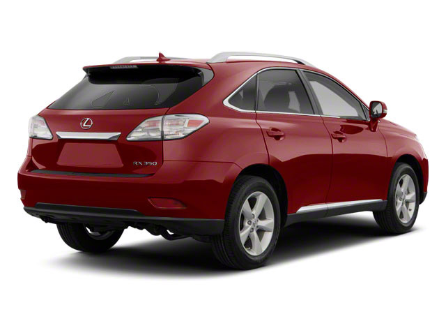 Matador Red Mica 2012 Lexus RX 350 Pictures RX 350 Utility 4D 2WD photos rear view
