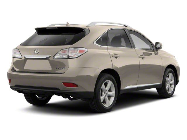 Satin Cashmere Metallic 2012 Lexus RX 350 Pictures RX 350 Utility 4D 2WD photos rear view