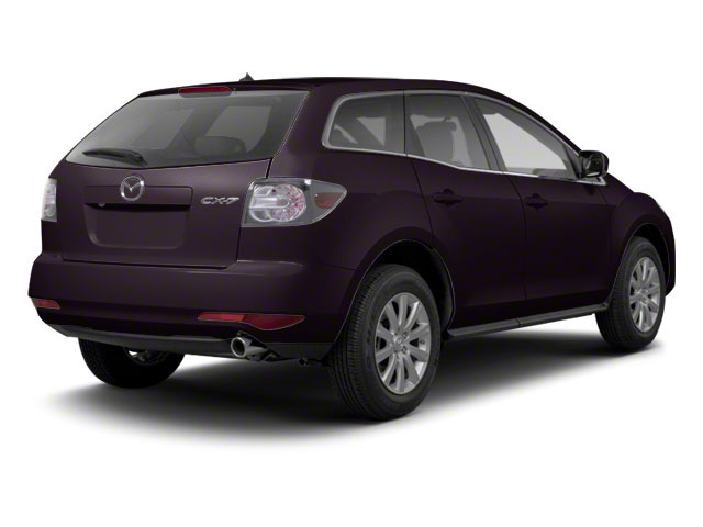 Black Cherry Mica 2012 Mazda CX-7 Pictures CX-7 Wagon 4D s Touring AWD photos rear view