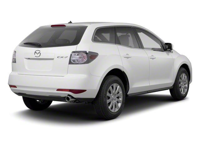 Crystal White Pearl Mica 2012 Mazda CX-7 Pictures CX-7 Wagon 4D s GT AWD photos rear view