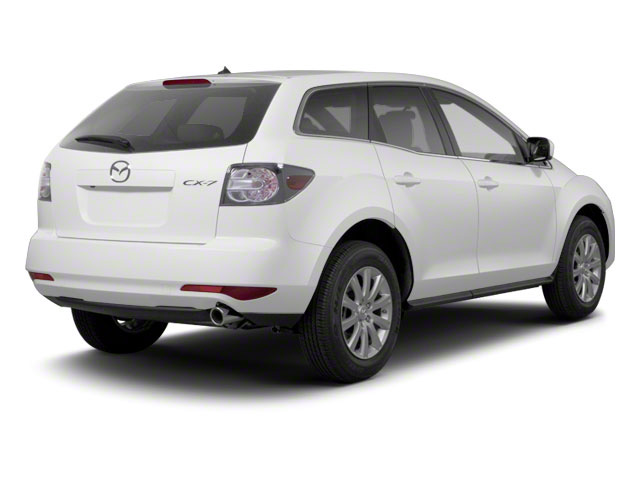Crystal White Pearl Mica 2012 Mazda CX-7 Pictures CX-7 Wagon 4D s GT photos rear view