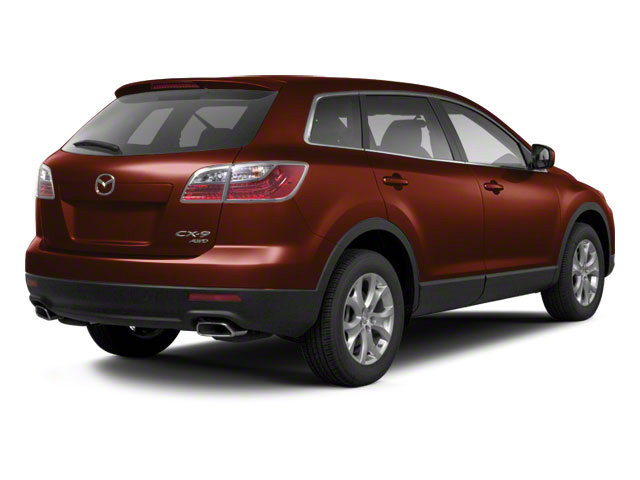Copper Red Mica 2012 Mazda CX-9 Pictures CX-9 Utility 4D GT 2WD photos rear view