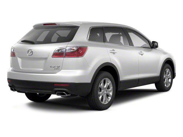 Crystal White Pearl Mica 2012 Mazda CX-9 Pictures CX-9 Utility 4D GT 2WD photos rear view