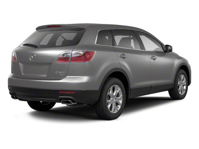Liquid Silver Metallic 2012 Mazda CX-9 Pictures CX-9 Utility 4D Sport 2WD photos rear view