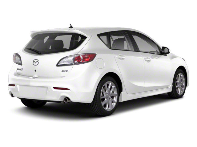 Crystal White Pearl Mica 2012 Mazda Mazda3 Pictures Mazda3 Wagon 5D s GT photos rear view