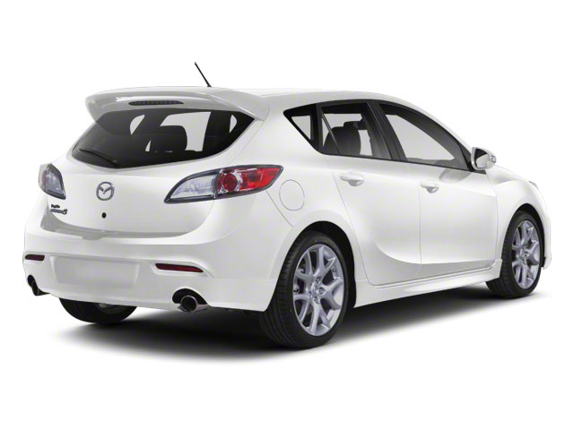 Crystal White Pearl Mica 2012 Mazda Mazda3 Pictures Mazda3 Wagon 5D SPEED photos rear view