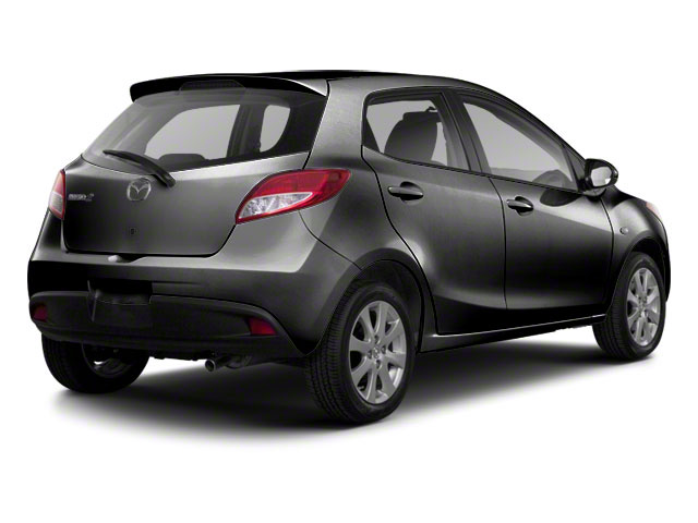 Brilliant Black 2012 Mazda Mazda2 Pictures Mazda2 Hatchback 5D Touring photos rear view
