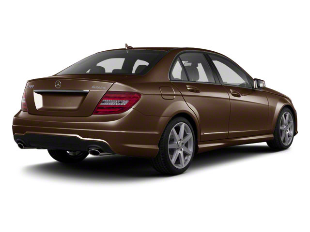 Cuprite Brown Metallic 2012 Mercedes-Benz C-Class Pictures C-Class Sedan 4D C63 AMG photos rear view