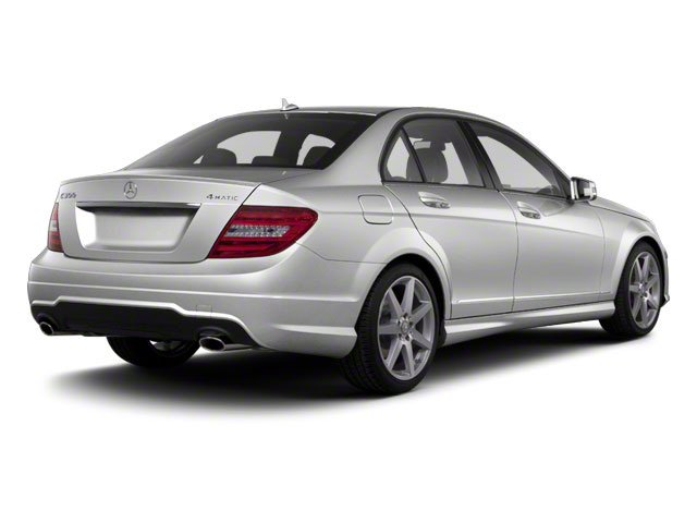 Iridium Silver Metallic 2012 Mercedes-Benz C-Class Pictures C-Class Sedan 4D C63 AMG photos rear view