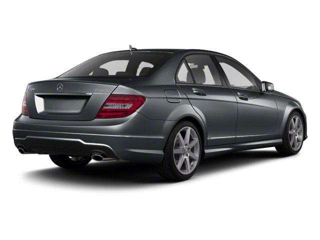Sapphire Grey Metallic 2012 Mercedes-Benz C-Class Pictures C-Class Sedan 4D C63 AMG photos rear view