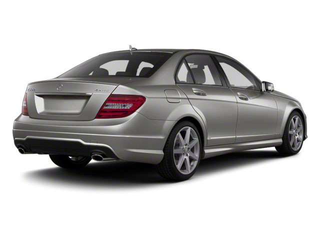 Palladium Silver Metallic 2012 Mercedes-Benz C-Class Pictures C-Class Sedan 4D C63 AMG photos rear view