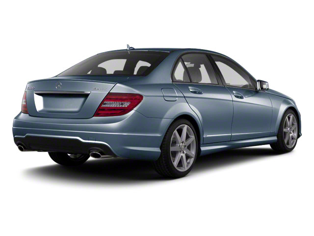 Lunar Blue Metallic 2012 Mercedes-Benz C-Class Pictures C-Class Sedan 4D C63 AMG photos rear view