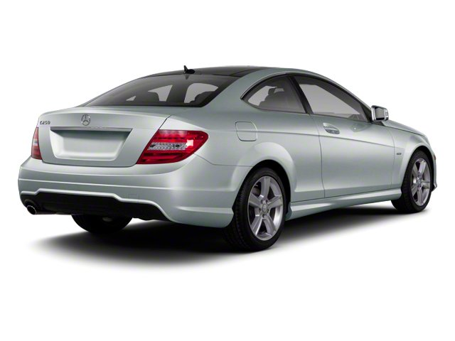 designo Magno Alanite Matte Grey 2012 Mercedes-Benz C-Class Pictures C-Class Coupe 2D C63 AMG photos rear view