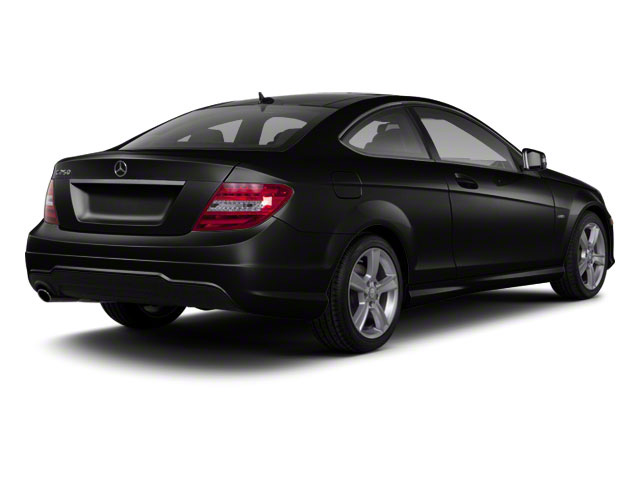 designo Magno Night Matte Black 2012 Mercedes-Benz C-Class Pictures C-Class Coupe 2D C63 AMG photos rear view