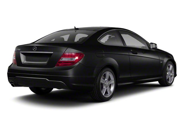 Magnetite Black Metallic 2012 Mercedes-Benz C-Class Pictures C-Class Coupe 2D C63 AMG photos rear view