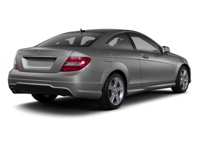 Steel Grey Metallic 2012 Mercedes-Benz C-Class Pictures C-Class Coupe 2D C63 AMG photos rear view