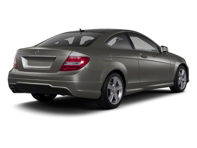 Palladium Silver Metallic 2012 Mercedes-Benz C-Class Pictures C-Class Coupe 2D C63 AMG photos rear view