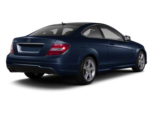Lunar Blue Metallic 2012 Mercedes-Benz C-Class Pictures C-Class Coupe 2D C63 AMG photos rear view