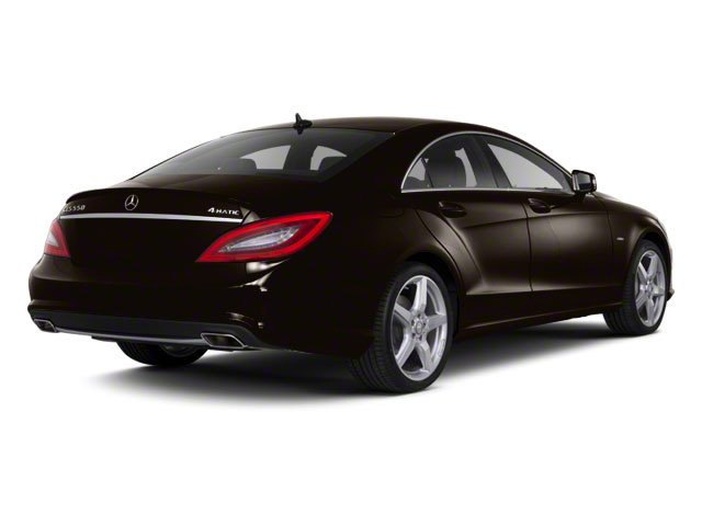 designo Mocha Black Metallic 2012 Mercedes-Benz CLS-Class Pictures CLS-Class Sedan 4D CLS63 AMG photos rear view