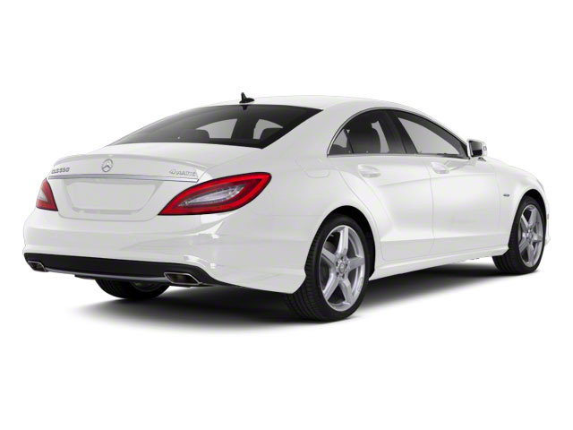 designo Magno Cashmere White Matte 2012 Mercedes-Benz CLS-Class Pictures CLS-Class Sedan 4D CLS63 AMG photos rear view