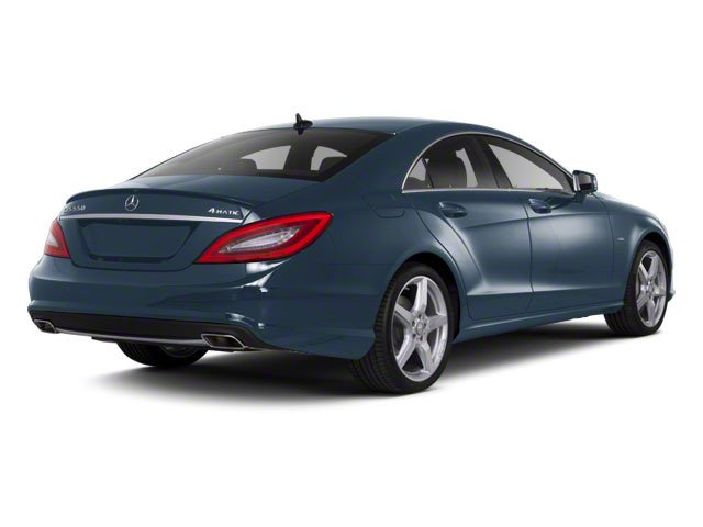 Lunar Blue Metallic 2012 Mercedes-Benz CLS-Class Pictures CLS-Class Sedan 4D CLS63 AMG photos rear view