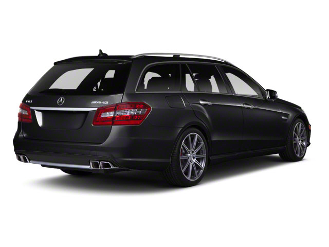 Black 2012 Mercedes-Benz E-Class Pictures E-Class Wagon 4D E350 AWD photos rear view