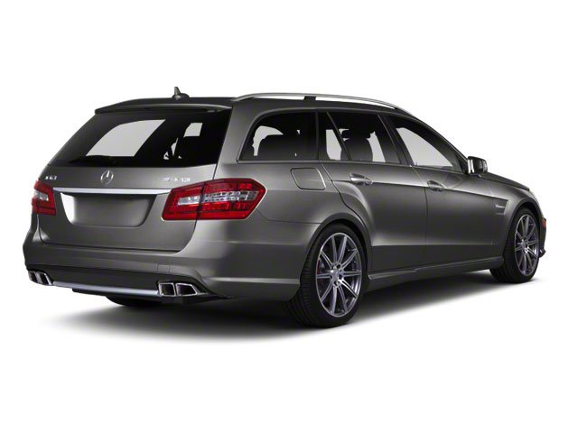 Steel Grey Metallic 2012 Mercedes-Benz E-Class Pictures E-Class Wagon 4D E350 AWD photos rear view