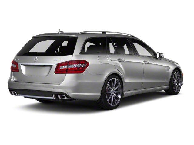 Palladium Silver Metallic 2012 Mercedes-Benz E-Class Pictures E-Class Wagon 4D E350 AWD photos rear view