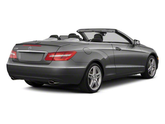 Steel Grey Metallic 2012 Mercedes-Benz E-Class Pictures E-Class Convertible 2D E350 photos rear view