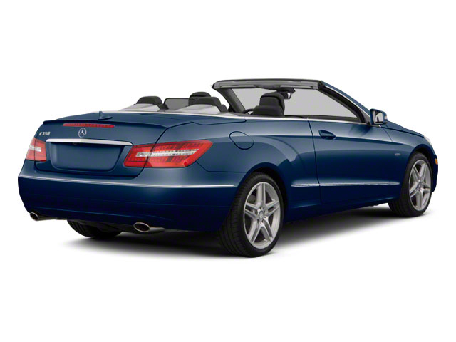 Lunar Blue Metallic 2012 Mercedes-Benz E-Class Pictures E-Class Convertible 2D E350 photos rear view