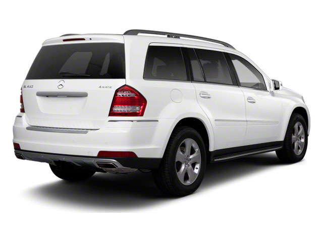 Arctic White 2012 Mercedes-Benz GL-Class Pictures GL-Class Utility 4D GL550 4WD photos rear view
