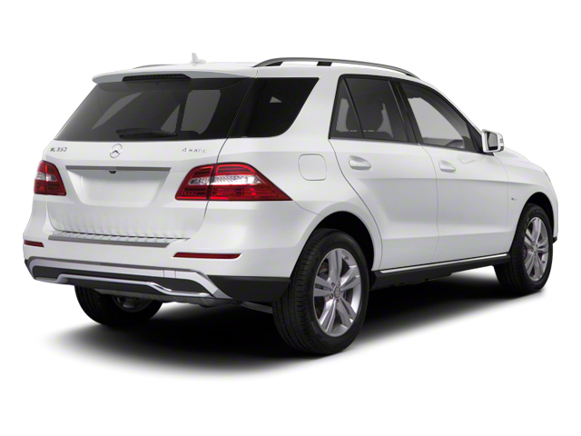 Arctic White 2012 Mercedes-Benz M-Class Pictures M-Class Utility 4D ML63 AMG AWD photos rear view