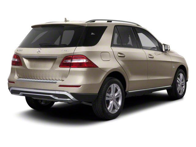 Pearl Beige Metallic 2012 Mercedes-Benz M-Class Pictures M-Class Utility 4D ML63 AMG AWD photos rear view