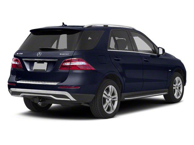Capri Blue Metallic 2012 Mercedes-Benz M-Class Pictures M-Class Utility 4D ML350 BlueTEC AWD photos rear view