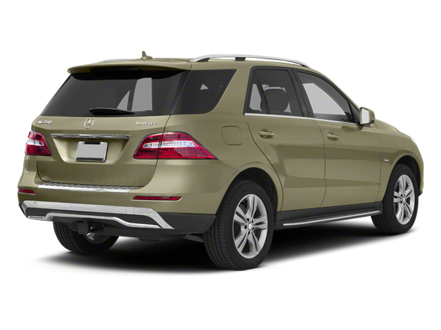 Pearl Beige Metallic 2012 Mercedes-Benz M-Class Pictures M-Class Utility 4D ML350 BlueTEC AWD photos rear view