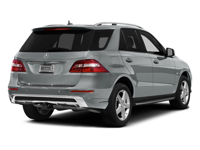 Iridium Silver Metallic 2012 Mercedes-Benz M-Class Pictures M-Class Utility 4D ML550 AWD photos rear view