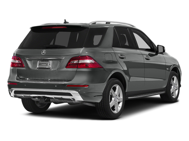 Palladium Silver Metallic 2012 Mercedes-Benz M-Class Pictures M-Class Utility 4D ML550 AWD photos rear view
