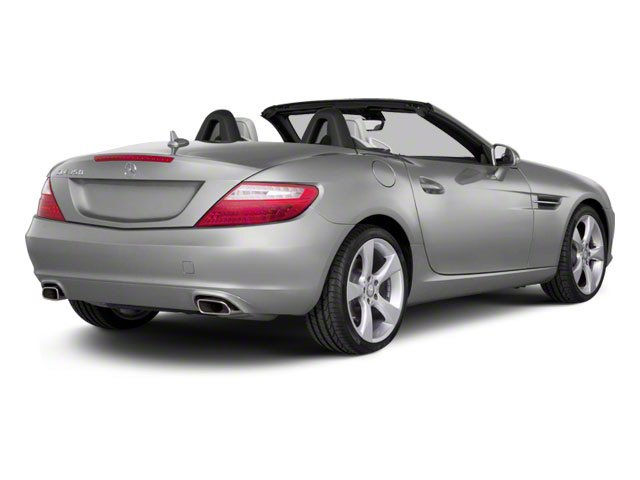 Indium Grey Metallic 2012 Mercedes-Benz SLK-Class Pictures SLK-Class Roadster 2D SLK350 photos rear view