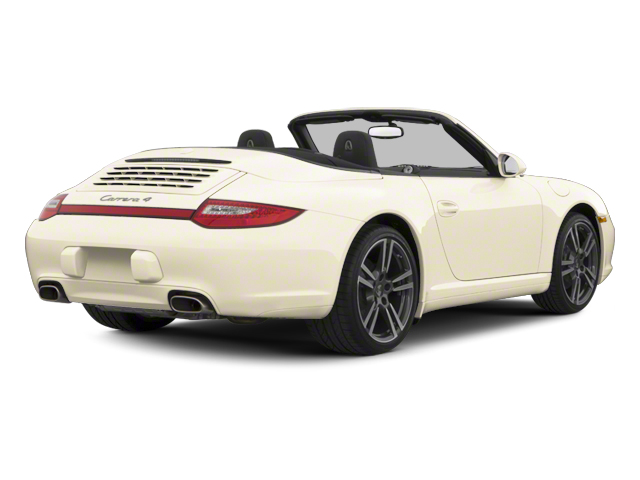 Cream White 2012 Porsche 911 Pictures 911 Cabriolet 2D Turbo AWD photos rear view