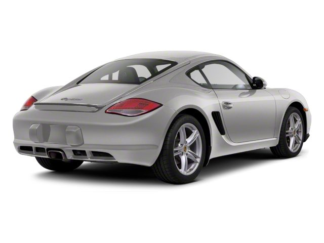 Platinum Silver Metallic 2012 Porsche Cayman Pictures Cayman Coupe 2D photos rear view