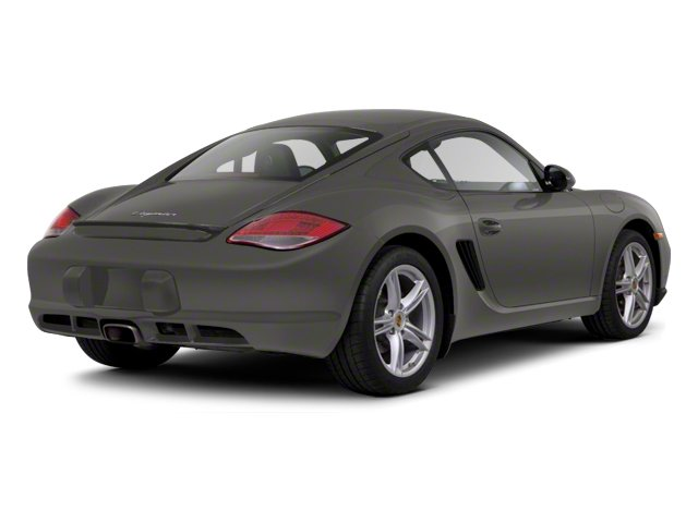 Meteor Grey Metallic 2012 Porsche Cayman Pictures Cayman Coupe 2D photos rear view