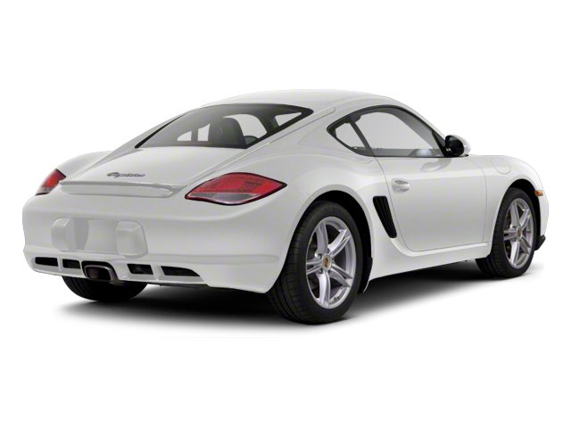 Carrara White 2012 Porsche Cayman Pictures Cayman Coupe 2D photos rear view