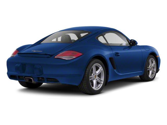 Aqua Blue Metallic 2012 Porsche Cayman Pictures Cayman Coupe 2D photos rear view