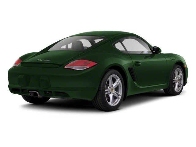 Porsche Racing Green Metallic 2012 Porsche Cayman Pictures Cayman Coupe 2D photos rear view