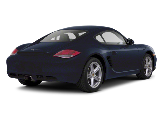 Dark Blue Metallic 2012 Porsche Cayman Pictures Cayman Coupe 2D photos rear view