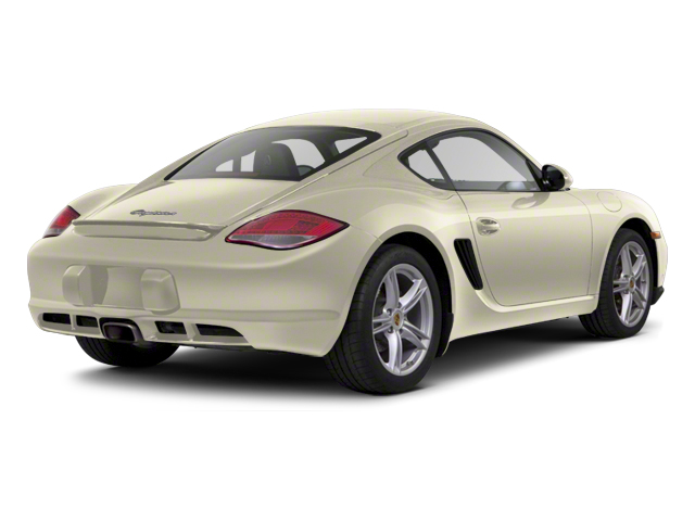 Cream White 2012 Porsche Cayman Pictures Cayman Coupe 2D photos rear view