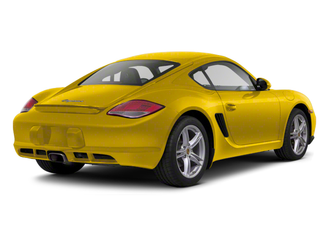 Speed Yellow 2012 Porsche Cayman Pictures Cayman Coupe 2D photos rear view