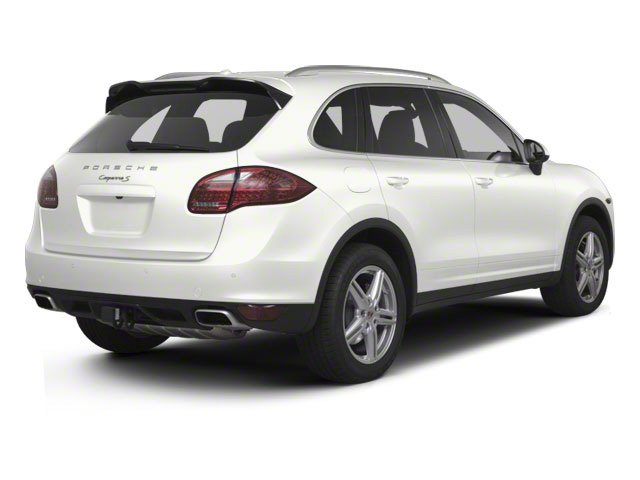 White 2012 Porsche Cayenne Pictures Cayenne Utility 4D S AWD (V8) photos rear view