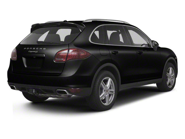 Jet Black Metallic 2012 Porsche Cayenne Pictures Cayenne Utility 4D S AWD (V8) photos rear view